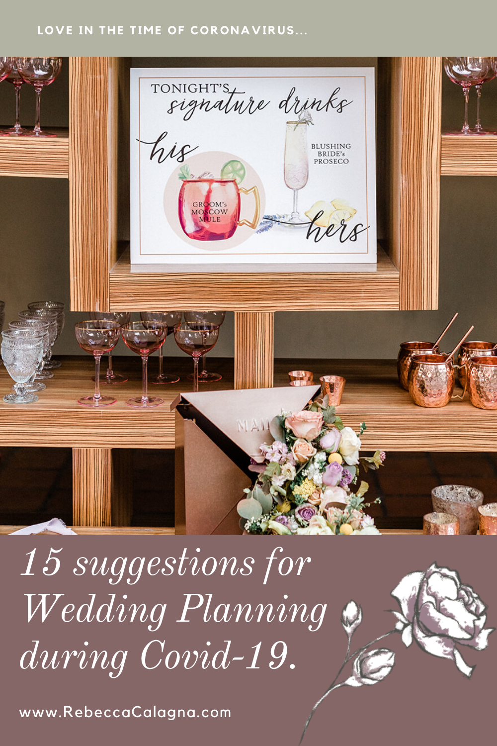15 suggestions for Wedding Planning during Covid-19!